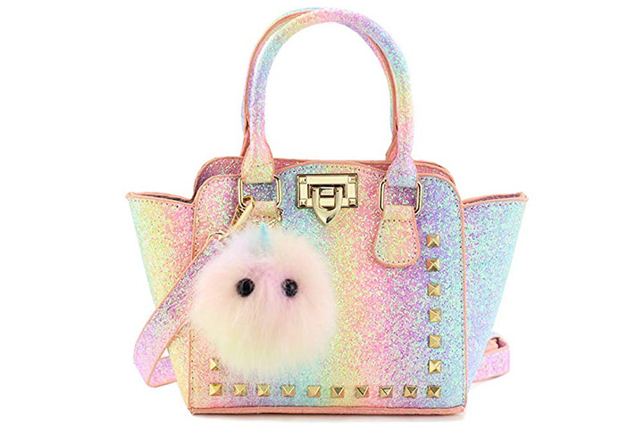 CMK TRENDY KIDS Glitter Handbag For Girls