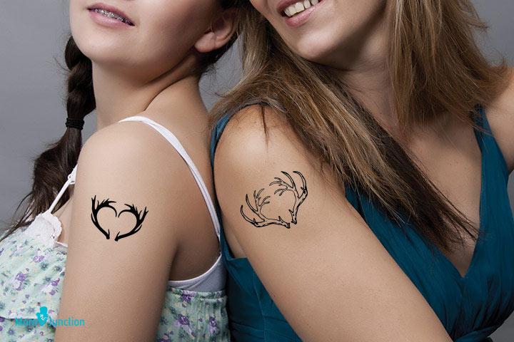 Deer Antlers Tattoos