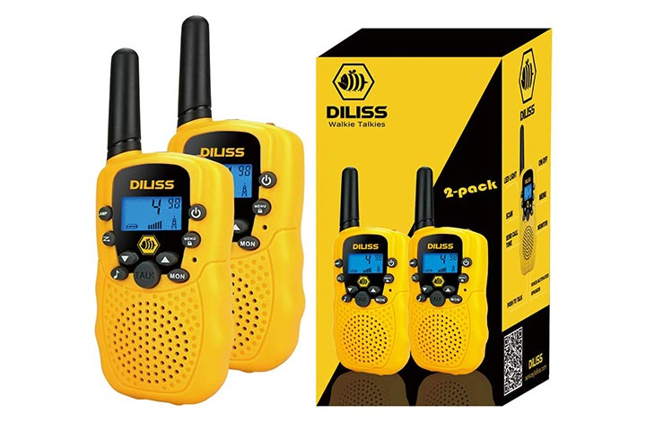 DilissToys Walkie Talkies for Kids