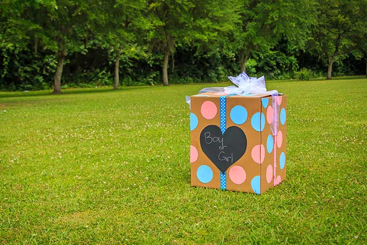 Gender-reveal with a twist