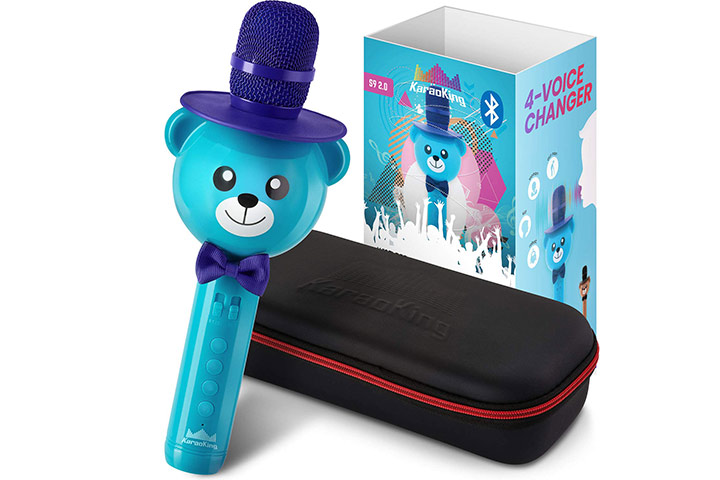 KaraoKing Karaoke Microphone For Kids
