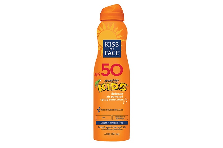 Kiss My Face Kids Defense Continuous Spray Sunscreen