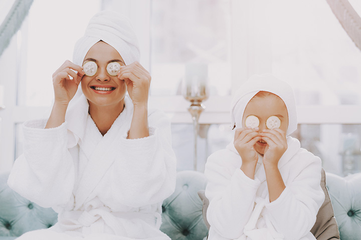 Pamper them at the spa