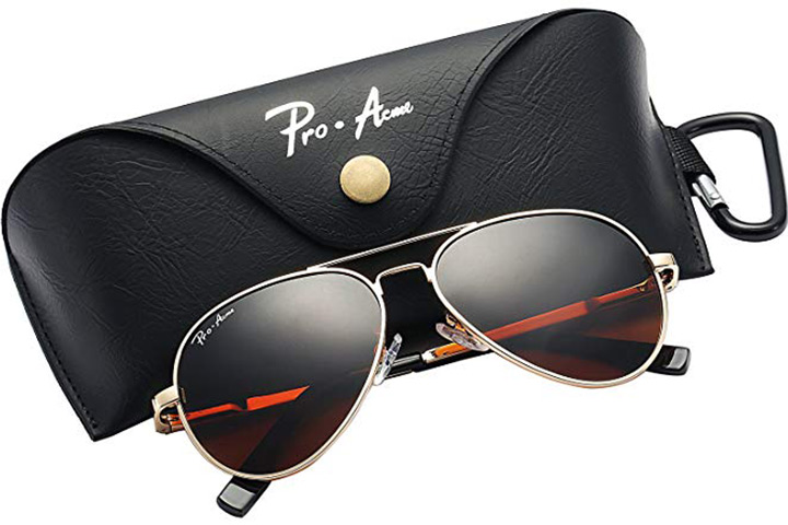 Pro Acme Small Polarized Aviator Sunglasses