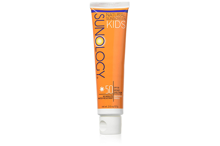 Sunology Kid's & Baby Safe Mineral Sunscreen