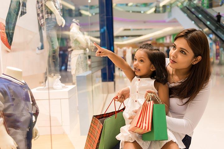 Take them on a shopping spree