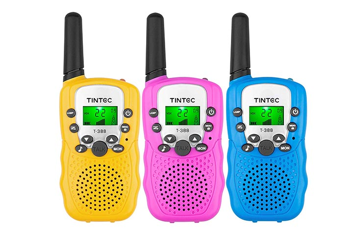Tintec 3-Pack Walkie Talkies