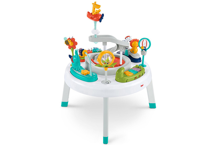 1. Fisher-Price Spin 'n Play Safari Activity Center