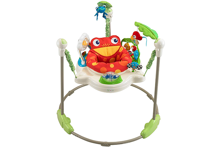 2. Fisher-Price Rainforest Jumperoo