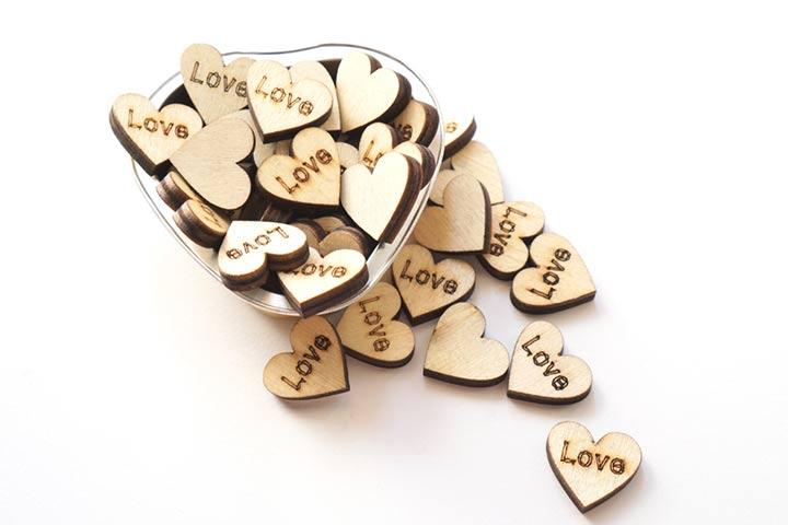 20. Tiny hearts Idea