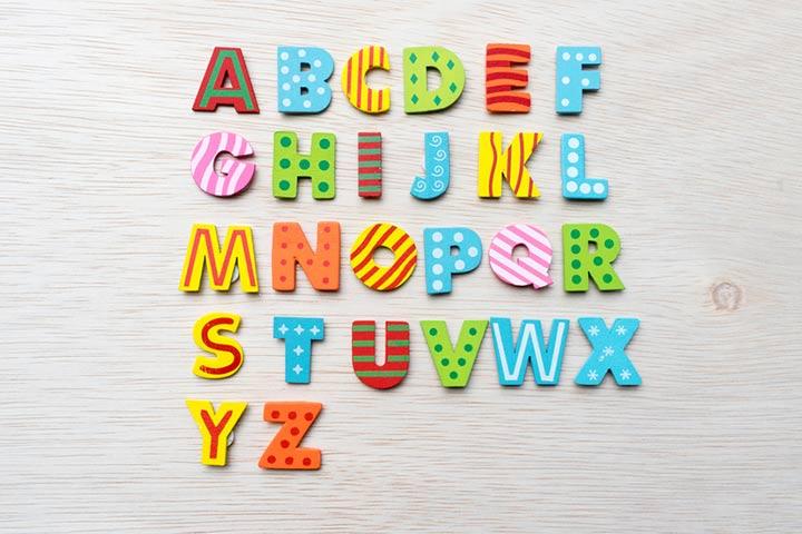 21. Alphabet idea