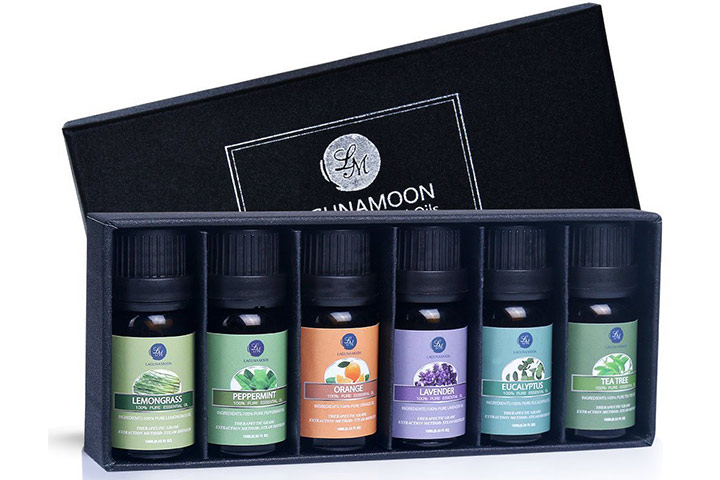 A set of essential oils