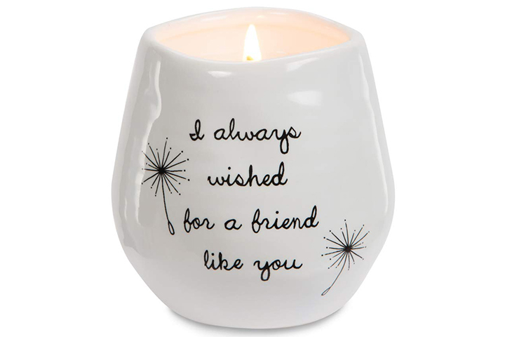 Ceramic soy serenity scented candle
