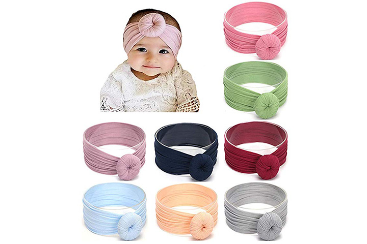 DANMY Baby Girl Nylon Headbands
