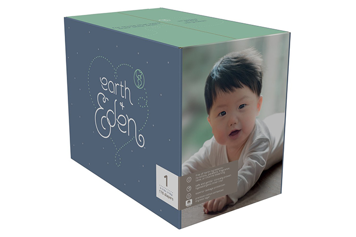 Earth + Eden Baby Diapers