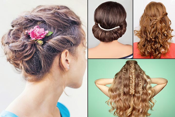 Easy Curly Hairstyles For Girls
