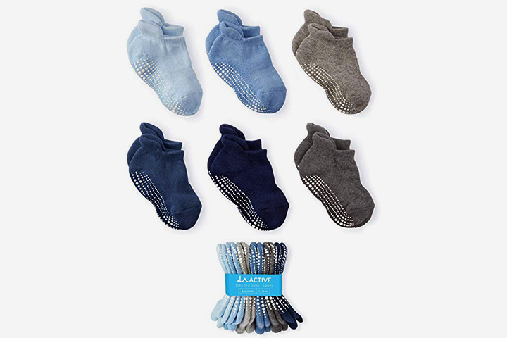 LA Active Grip Ankle Socks