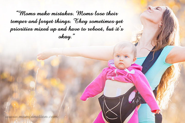 Inspirational Quote on New Mom