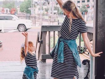 15 Photos Of Kids Twinning With Their Mommies