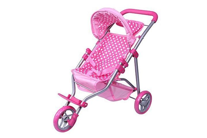 Precious Toys Jogging Baby Doll Stroller