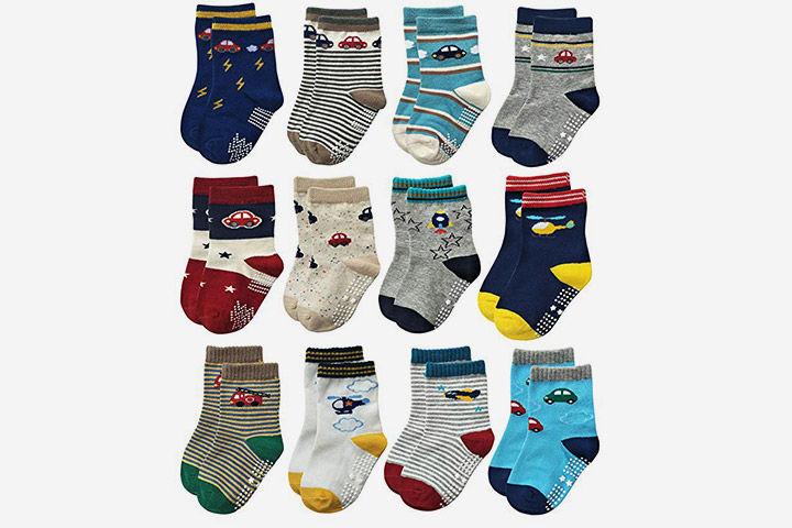 Rative RB-71112 Crew Socks For Boys