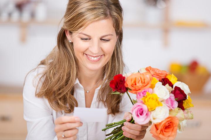 Send her flowers