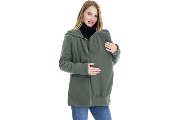 Small show Baby Carrier Fleece Sweat shirt
