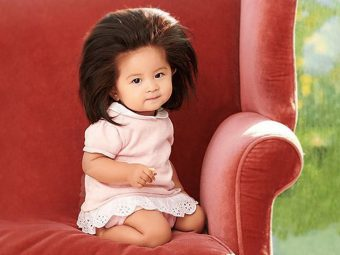 This Baby's Hair Is So Beautiful She's a Hair Model at Just 1 Year Old