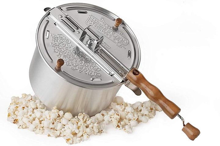 Whirley stovetop popcorn popper