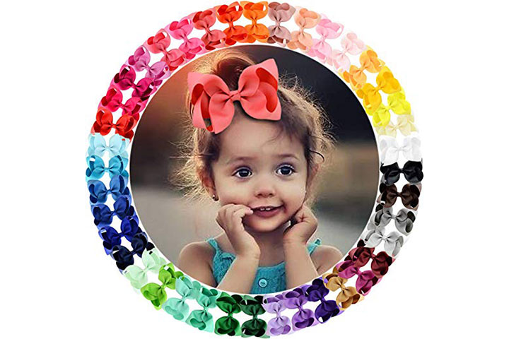 WillingTee Hair Bows Clips For Girls