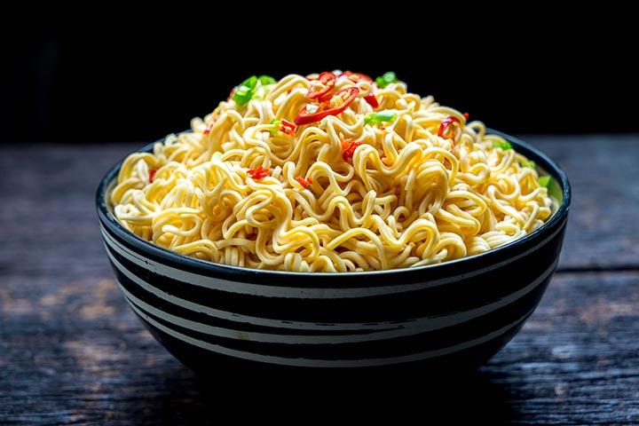1. Instant Noodles