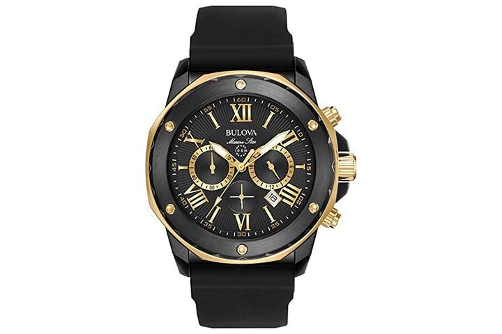 12. Bulova chronograph