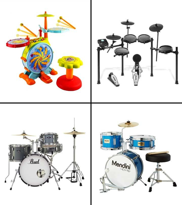 15 Best Drum Sets For Kids To Buy In 2021-1