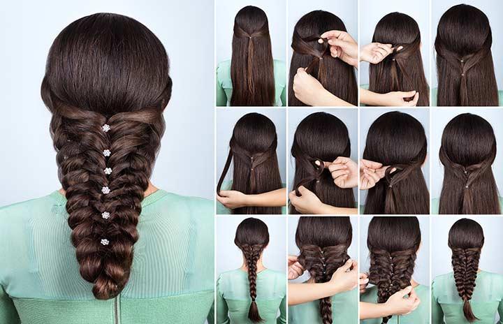 16. Voluminous festive braid