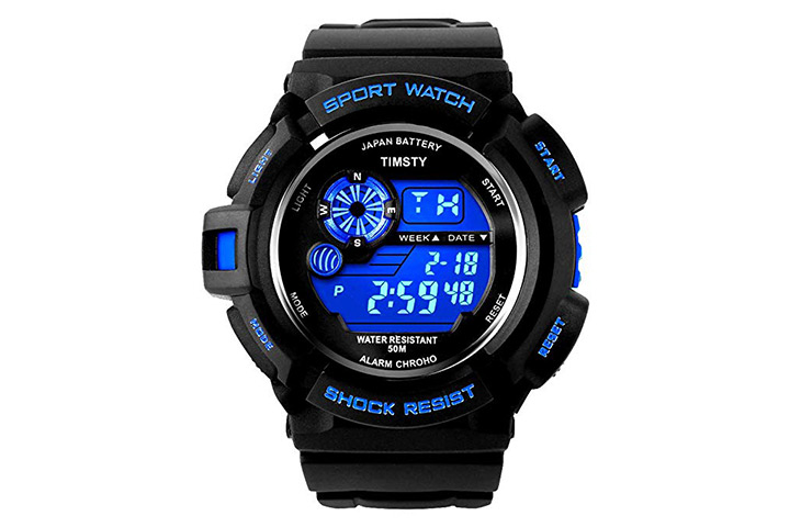 6. Timsty electronic sports watch