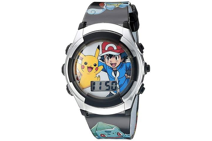 7. Pokemon digital watch