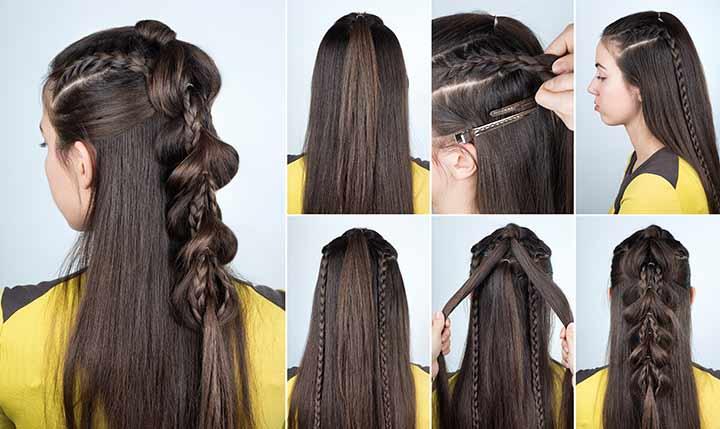 8. Twisty bubble dual braids