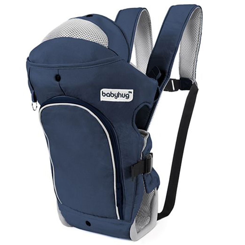 Babyhug Comfort Nest 3 Way Baby Carrier With Adjustable Infant Head Support