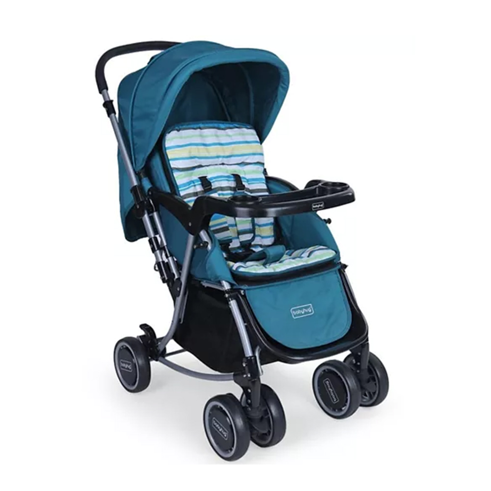 Babyhug 2 in 1 Rock and Roll Stroller Cum Rocker