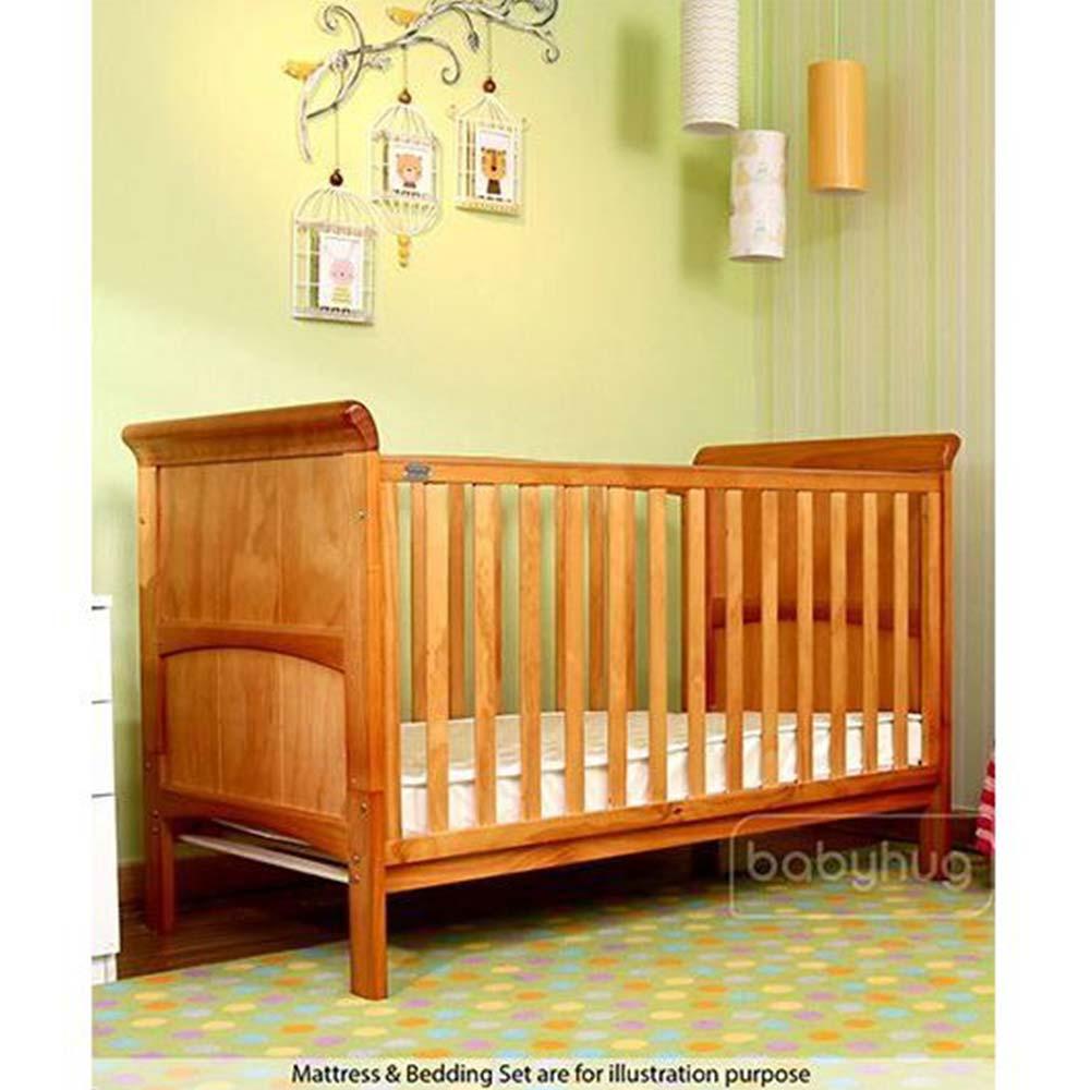 Babyhug Aspen Wooden Cot Cum Bed