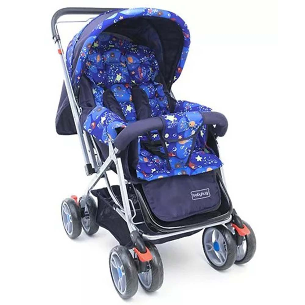 Babyhug Comfy Ride Stroller With Reversible Handle