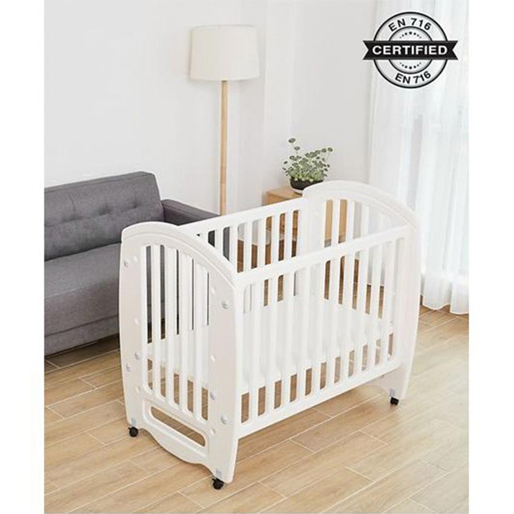 Babyhug Compacto 3 in 1 Cot Rocker Cum Study Table-0