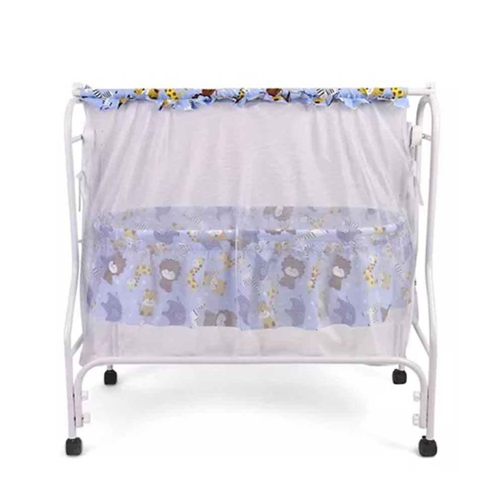 Babyhug Cozy Nest Cradle With Mosquito Net