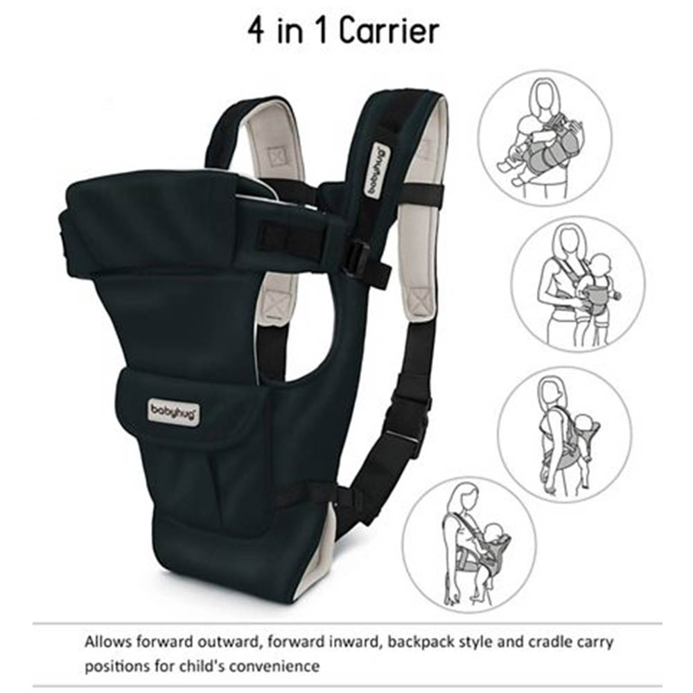 Babyhug Joy Bundle 4 Way Baby Carrier