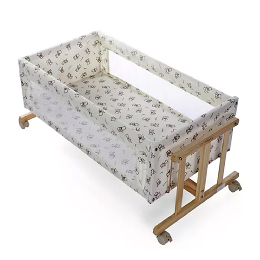 Babyhug Sleep-in Cradle With Mosquito Net