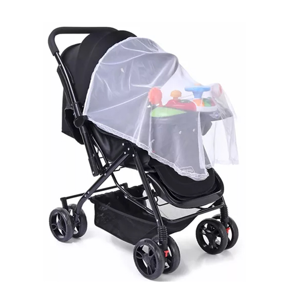 Babyhug Supreme Stroller With Mosquito Net & Musical Toy Tray