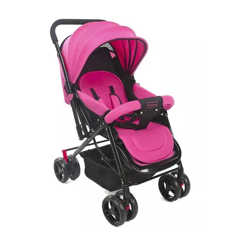 Babyhug Symphony Stroller With Reverisble Handle & Mosquito Net