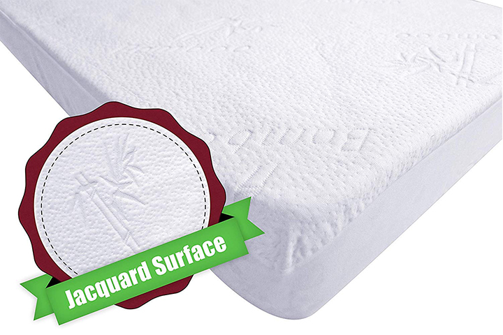 Bamboo Crib Mattress Pad