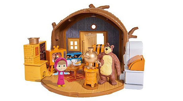 Bear house Masha1