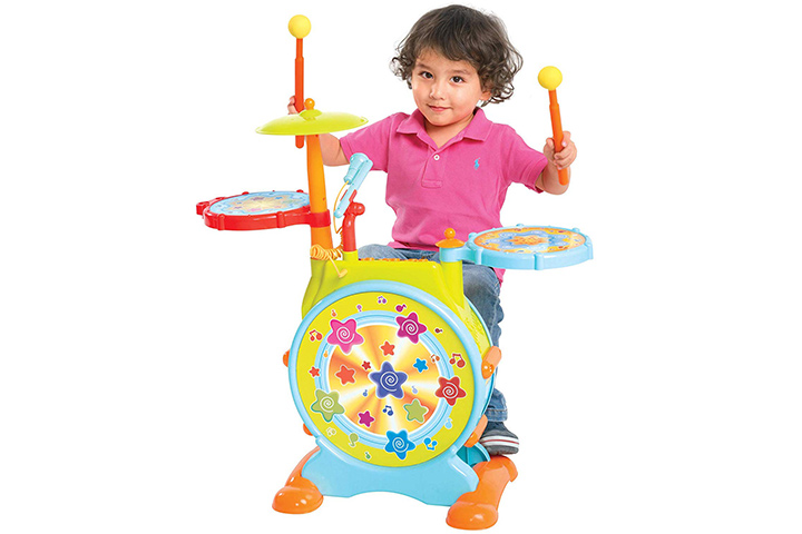 Best Choice Products Kids Toy Drum Set